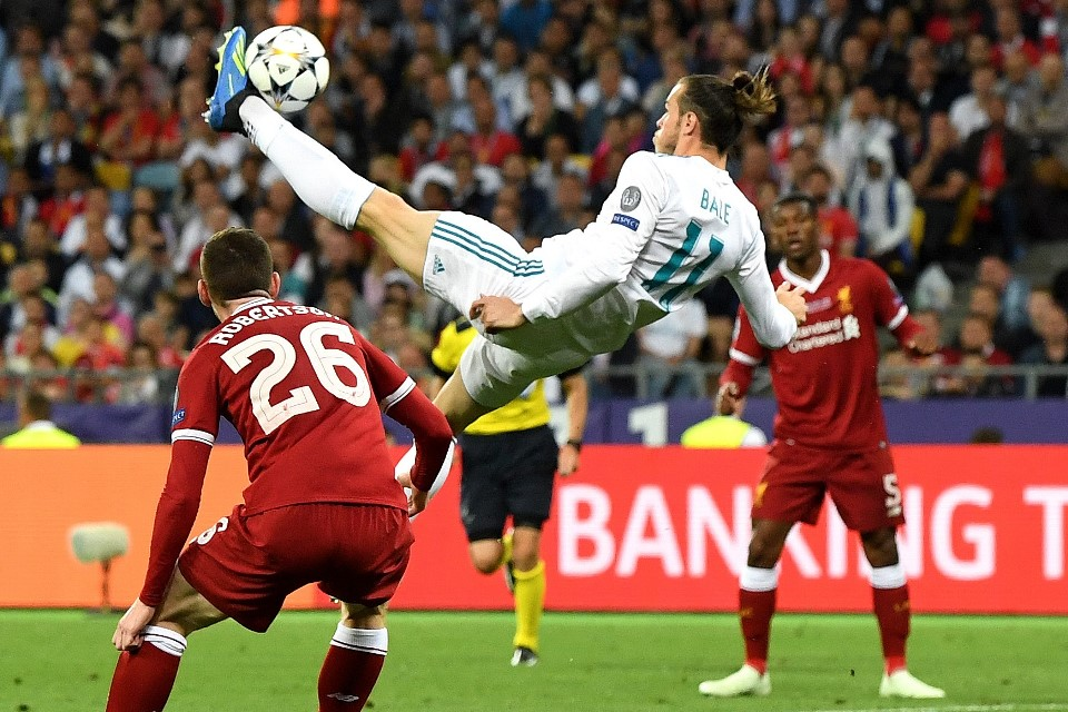 Buat Para Pengkritik Bale, Tonton Lagi Final Liga Champions 2014 dan 2018