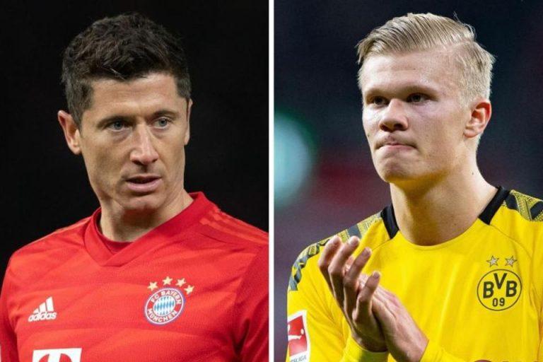 Der Klassiker Dortmund vs Bayern: Adu Tajam Haaland vs Lewandowski