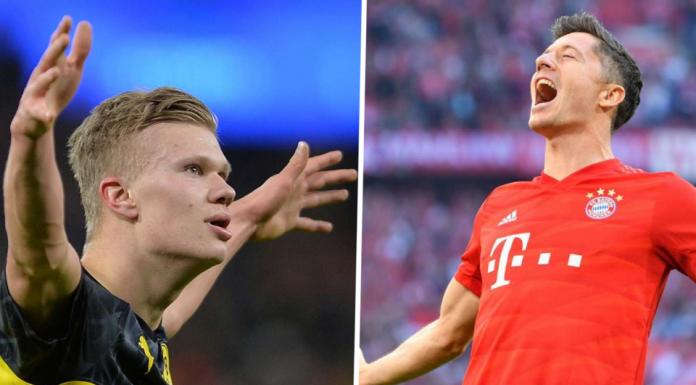 Haaland Belum Pantas Dibandingkan dengan Lewandowski!