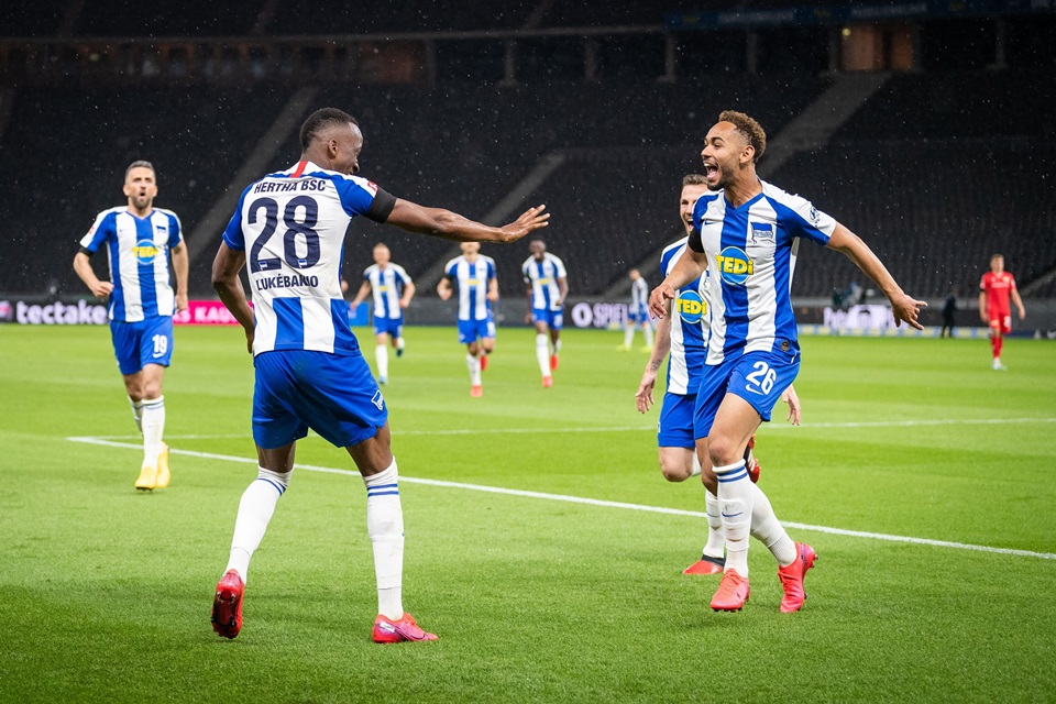 Hasil Laga Bundesliga Hertha Menangi Derby Berlin Kontra Union
