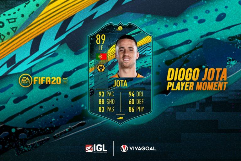 Diogo Jota Punya Card Special di FIFA 20 Ultimate Team
