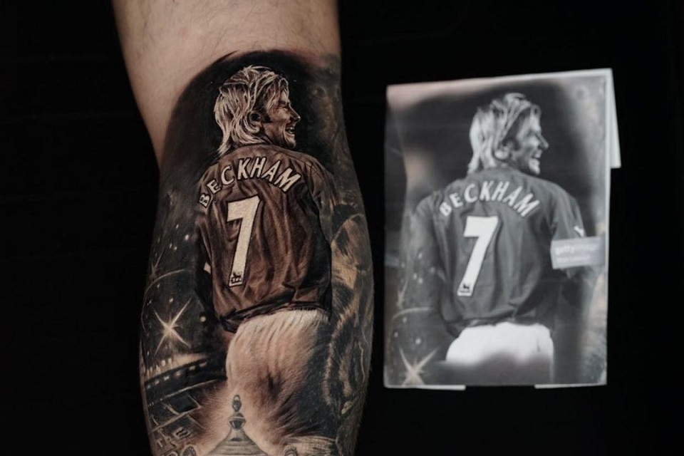 Klok Jelaskan Arti Tato Beckham Pada Tubuhnya