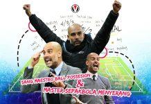Pep Guardiola Maestro Ball Possesion dan Master Sepakbola Menyerang