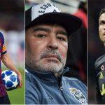 Sangar! Begini Jika Messi, Ronaldo dan Maradona Berada Dalam Satu Tim