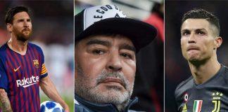 Ronaldo dan Messi Sudah Se-Level dengan Maradona?