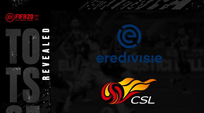 FIFA 20 Rilis TOTSSF Eredivisie dan Chinese Super League