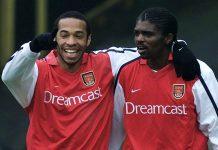 Thierry Henry dan Nwankwo Kanu