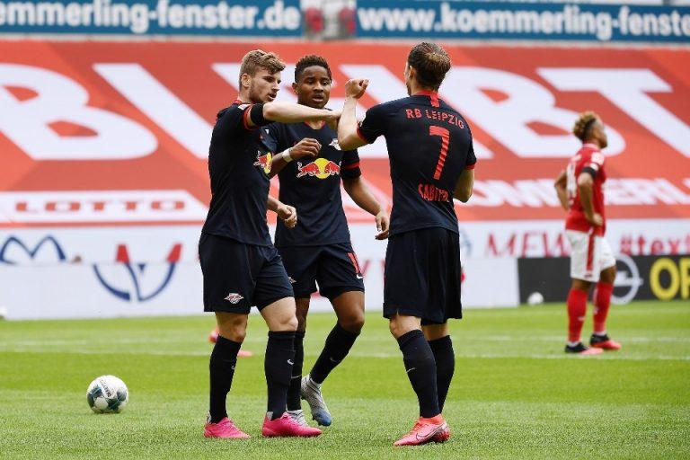 Timo Werner Kejar Lewandowski di Papan Top Scorer Bundesliga