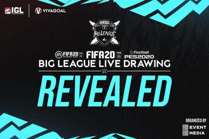 IGL Telah Rampungkan Drawing Big League untuk Tiga Game Berbeda!
