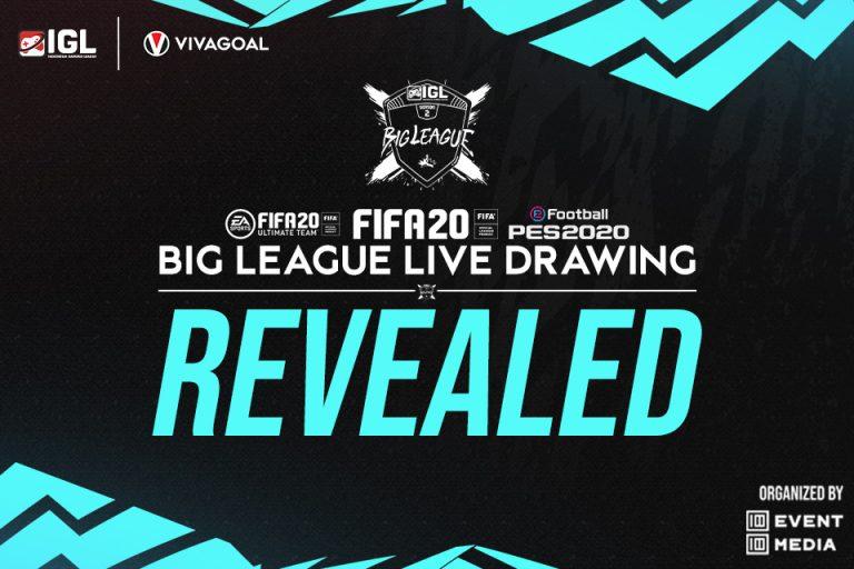 IGL Rampungkan Drawing Big League untuk Tiga Game Berbeda!