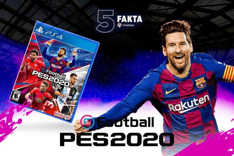 5 Fakta eFootball PES 2020