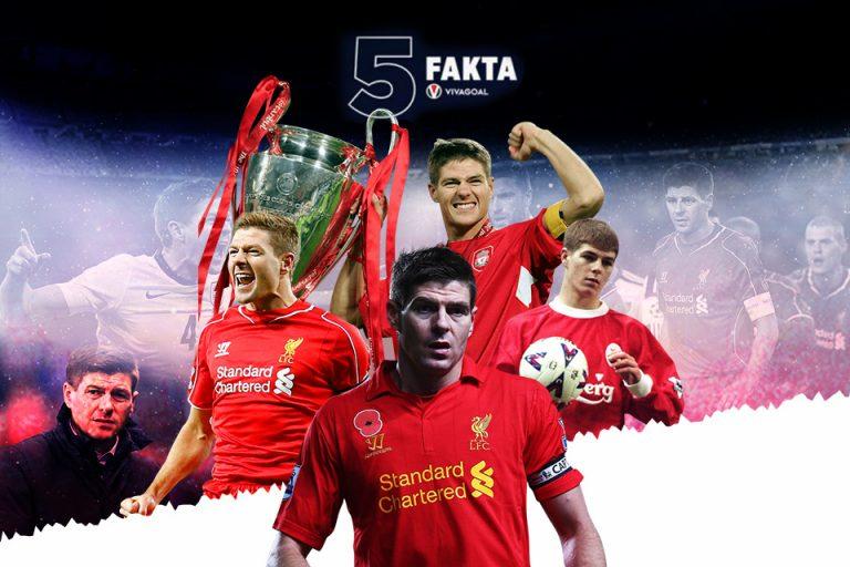 5 Fakta Kapten Fantastik Steven Gerrard