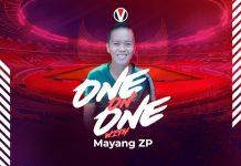 Mayang ZP Pemain Putri Yang Berpotensi