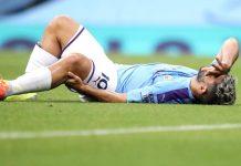 Cedera Lutut Parah, Aguero Masih Absen Dua Bulan Lagi