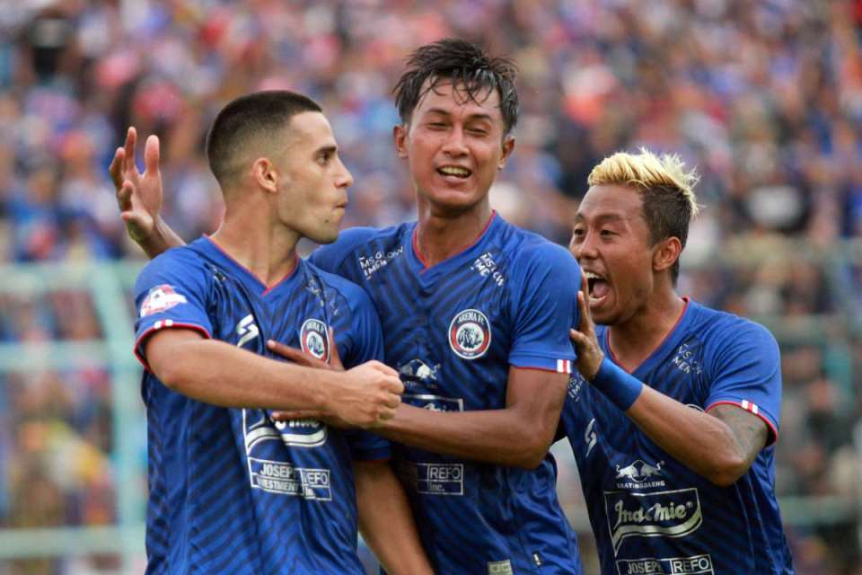 Dominasi Young Gun Power di Tubuh Arema FC