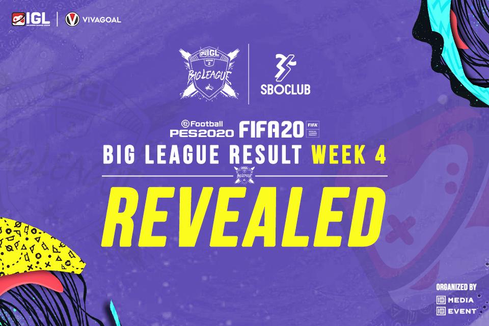 Drama Berbalas Kemenangan Warnai Big League FIFA 20 Kick Off IGL