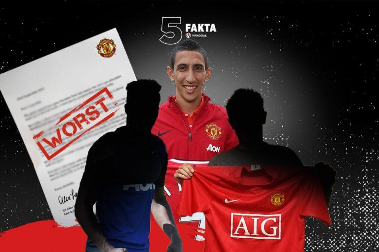 5 Fakta Transfer Terburuk Manchester United