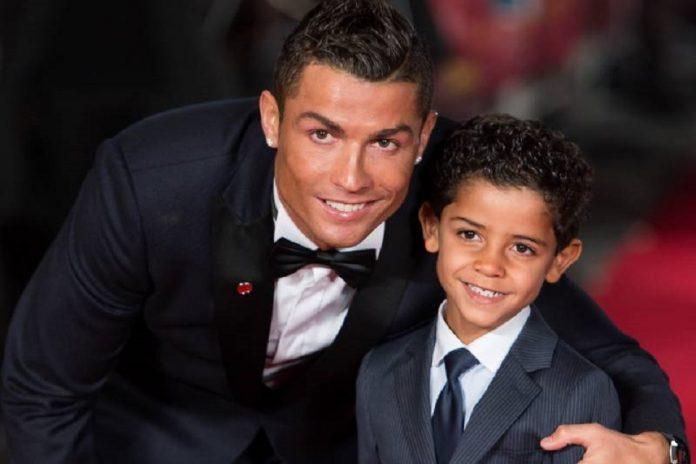 Cristiano Ronaldo dan Ronaldo Jr