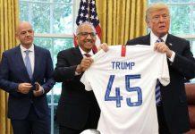 Donald Trump Tak Mau Tonton Timnas AS Lagi, Kenapa?
