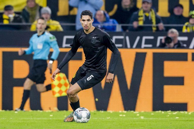 Dortmund Ajukan Pinjaman Satu Musim Lagi Untuk Achraf