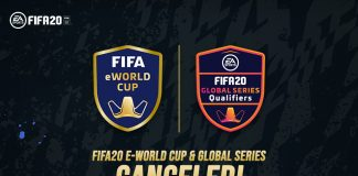 Rangkaian Global Series dan eWorld Cup FIFA 20 Resmi Dibatalkan, Kenapa?
