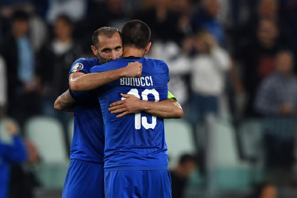 Giorgio Chiellini dan Leonardo Bonucci