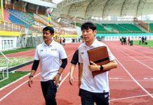 Indra Sjafri dan Shin Tae yong