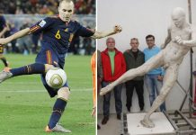 Patung Andres Iniesta Tuai Kontroversi, Kenapa?