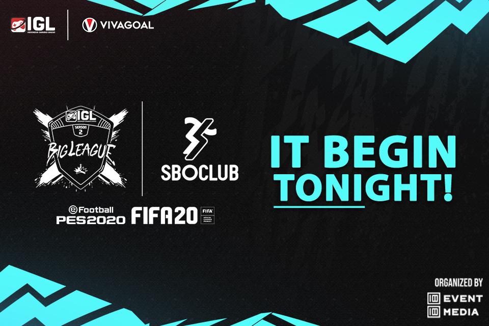 Malam Ini, IGL Gelar Laga Big League untuk FIFA 20 Kick Off