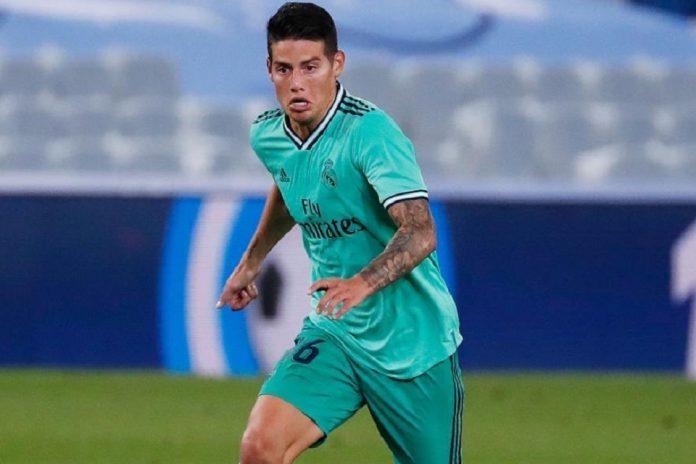 James Rodriguez Madrid