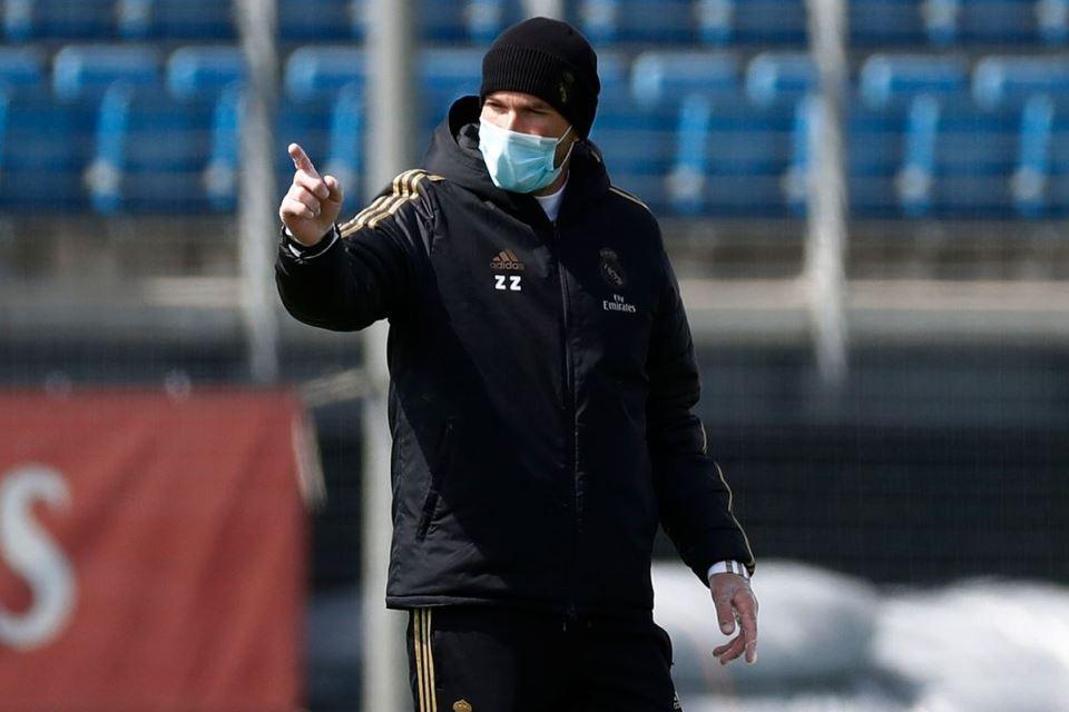 Jelang Lawan Valencia, Zidane Tuntut Pemain Madrid Tampil Maksimal