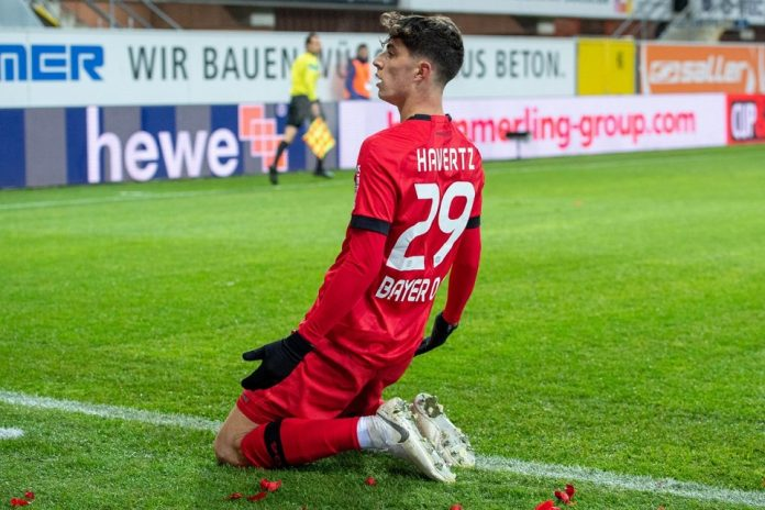 Kai Havertz Leverkusen