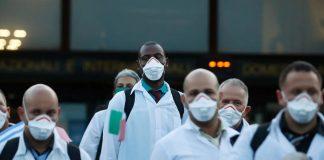 Kedatangan Para Dokter Kuba untuk Tangani Pandemi Corona di Italia