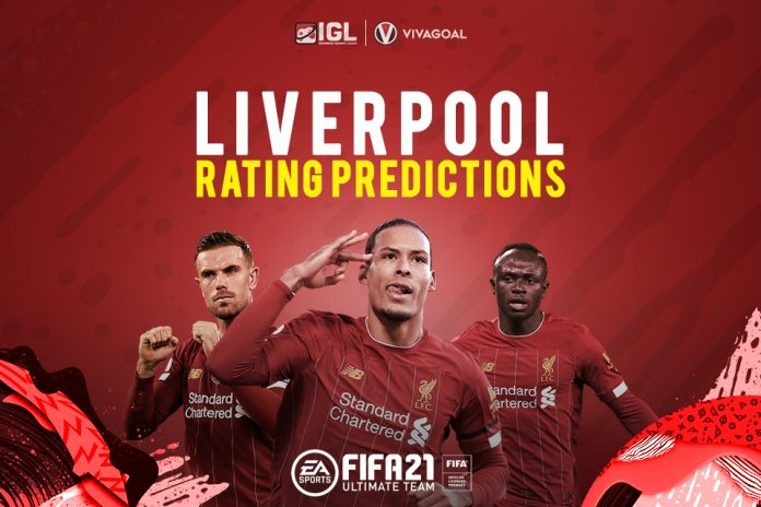 Liverpool Player Rating Prediction on FIFA 21