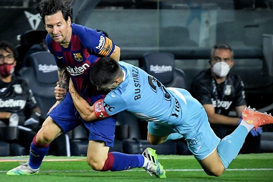 Lionel Messi vs Leganes
