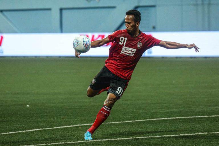 Winger Bali United Dukung Regulasi Khusus Untuk Pemain U-20