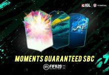 EA Sports Rilis Moments Guaranteed SBC di FIFA 20