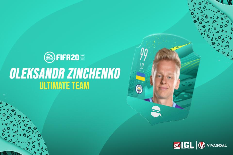 Fullback Muda Man City Miliki Custom Card & FIFA 20 Ultimate Team Sendiri