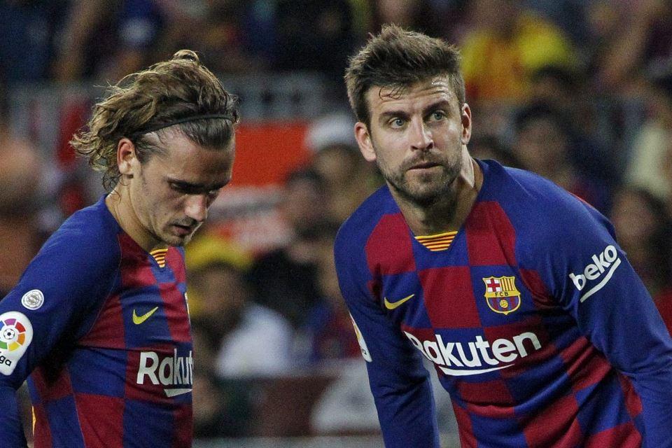 Pique Angkat Bendera Putih Kans Juara Barcelona Sudah Habis
