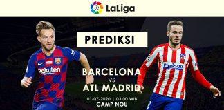 Prediksi Barcelona vs Atletico Madrid Misi Berat Los Cules Rebut Pucuk Klasemen LaLiga