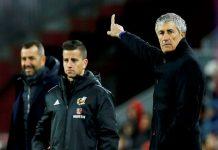 Quique Setien, pelatih Barcelona