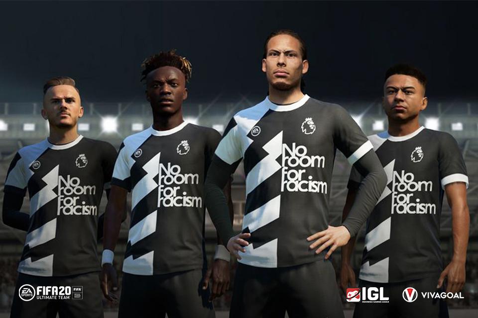 Tolak Rasisme, EA Sports Luncurkan Pesan Berkelas