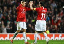Ronaldo dan Giggs Manchester United