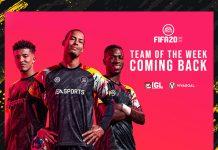 Lama Absen, TOTW Card Kembali Hadir di FIFA 20