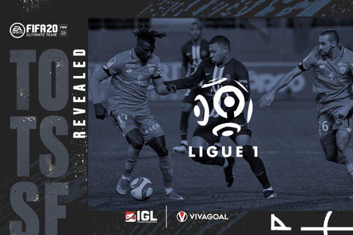 Dominasi Pemain PSG di TOTSSF Ligue 1