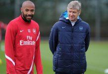 Thierry Henry dan Arsene Wenger