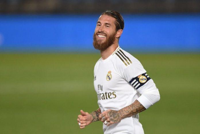 Zidane Puji Ramos Yang Cetak Gol Indah Ala David Beckham