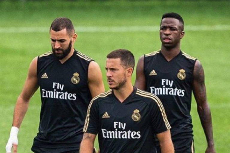 Bak Dua Kutub Magnet, Hazard dan Vinicius Tak Bisa Bersama di Real Madrid