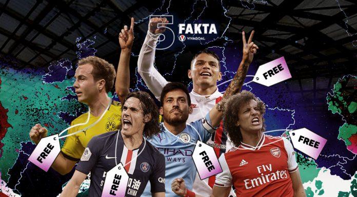 Lima Pemain Top Eropa yang Bisa Didapat Secara Gratis, Siapa Mau?
