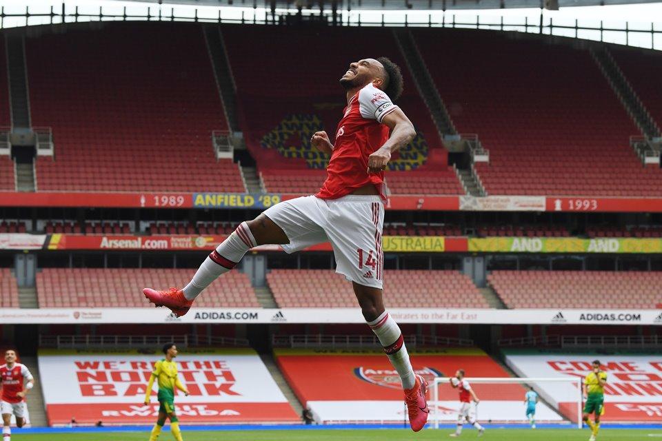 Bukan Uang, Arsenal Punya Cara Lain untuk Tahan Aubameyang